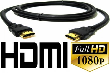 6ft Gold-Plated HDMI Cable