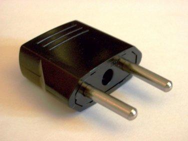 MU-5 American to Europe Asia 4mm Plug Adapter US To EU