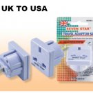 Seven Star SS-422 British UK to USA Plug Adapter