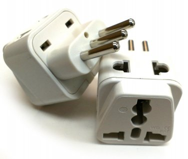 SS-718 Italy 2-Input Universal Plug Adapter Type L