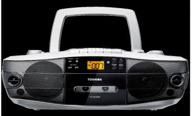 Toshiba TX-DK3000 Dual Voltage CD Radio Cassette Boombox