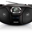 Philips AZ382 220 Volt CD Player w/USB & MP3 (220V NON-US Compliant)