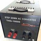 10000 W Watt Step Down Power Transformer 220v to 110v Voltage Converter 10000W