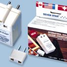 Seven Star SS213 60W Dual Voltage Converter 60 Watt 110 to 220 volt or 220 volt to 110 volt
