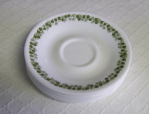 Corelle, Corning Ware, Spring Blossom / Crazy Daisy, Saucer, 8 available