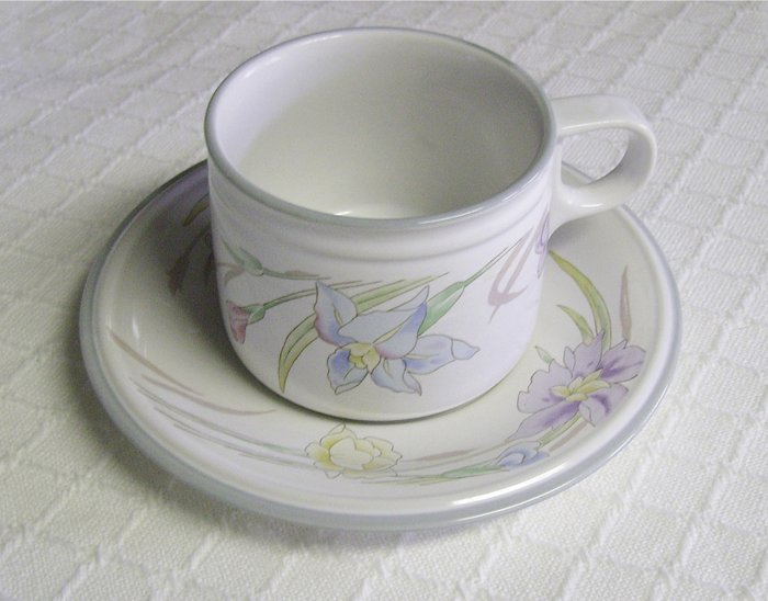 Cup and Saucer Set, Studio Nova, New Gabriele, Japan, 3 available