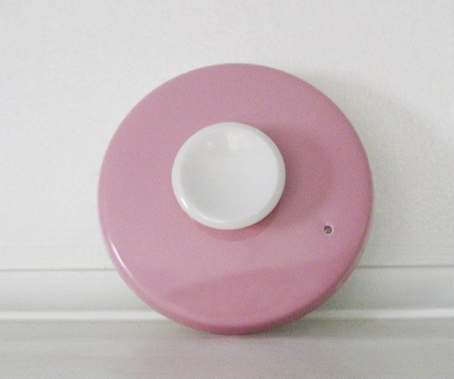 Mikasa, Country Gingham, Cotton Candy, Pink, Coffee Pot Lid, vintage, rare