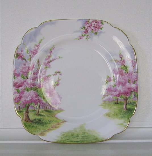 Royal Albert, Bone China, Blossom Time, Salad Dessert Plate, 4 available