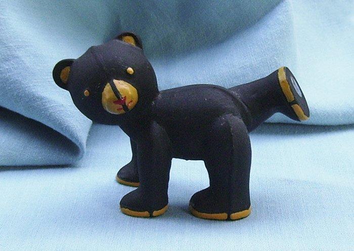 Franklin Mint, Americana Teddy Bear, Cast Iron Teddy, 1991