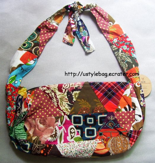Patchwork bag free shipping $