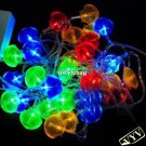 5M 30Led/pcs Crystal Scallops Led Light Led Flexible Light for Christmas and Holiday Decoration