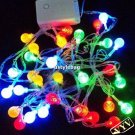 5M 30Led/pcs Crystal Strawberry Strip Light for Christmas and Holiday Decoration