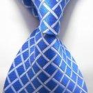 Red white Stripe Silk Classic Woven Man Tie Necktie