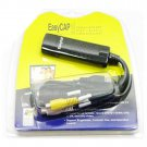 Free shippping Easycap USB 2.0 Video TV DVD VHS Audio Capture Adapter