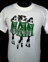 Irish Dancers Three Irish Dancers