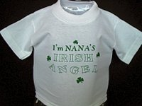 NaNa's Irish Angel T-shirt