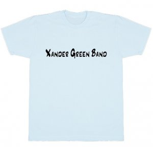 Light Blue Basic American Apparel T-Shirt
