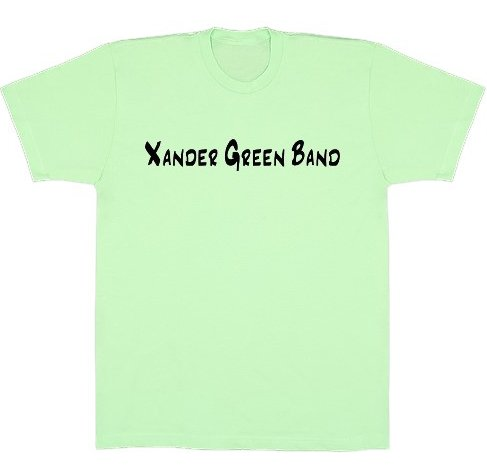 Lime Basic American Apparel T-Shirt