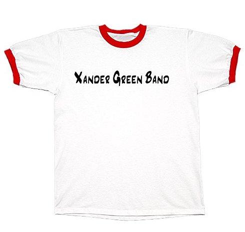 White/Red Ringer T-Shirt