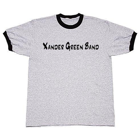 Grey/Black Ringer T-Shirt