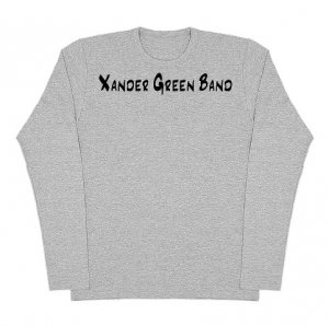 Heather Grey American Apparel Long Sleeve (Fitted)