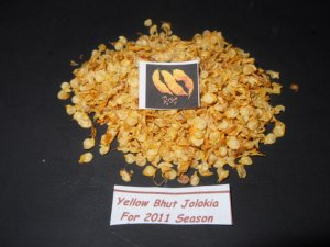 "20 seeds ""YELLOW"" BHUT JOLOKIA -Ghost Chili Naga Pepper HOT!!"