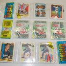 1990 FLEER Baseball Card Unopened Rack Packs - 45 Cards & 3 Logo Stickers