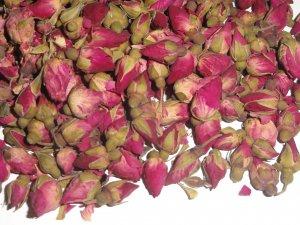 1 oz. Miniature Chinese Rose Buds - Dried Tea Herb Flower Rosebuds Wedding Decor