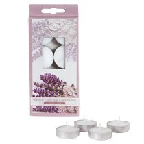 Luminessence White Lilacs & Lavender Tealight Candles, 8-ct. Packs