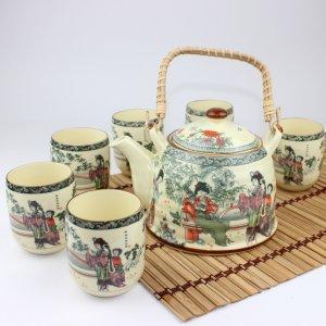 3 Set of Chinese Orient Beauty Tea Service Set