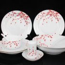 Fine Bone China Dinnerware Set 28PCS Plum Blossom