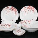 Fine Bone China Dinnerware Set 28PCS Plum Blossom
