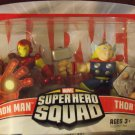 MARVEL Super Hero Squad IRON MAN and THOR unopened