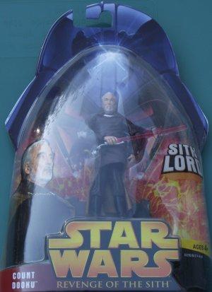 Star Wars Revenge of the Sith COUNT DOOKU #13 unopened