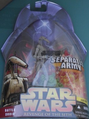 Star Wars Revenge of the Sith BATTLE DROID #17 unopened