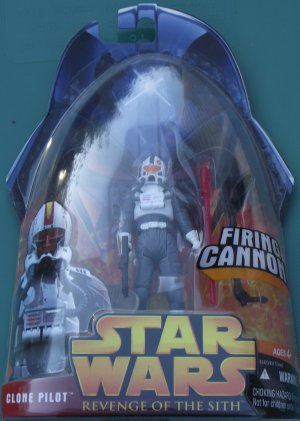Star Wars Revenge of the Sith CLONE PILOT #34 unopened