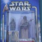 Star Wars 2002 TUSKEN RAIDER FEMALE with TUSKEN CHILD #08 unopened