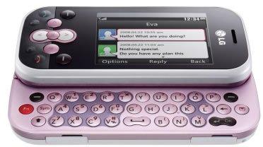 LG KS360 GSM Triband Phone (Unlocked) Pink.