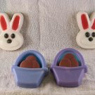 Easter Basket & Bunny Soap Set