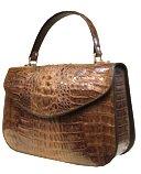 Crocodile Leather Handbag