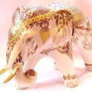 Golden Elephant Handmade Thai Pattern Ornament