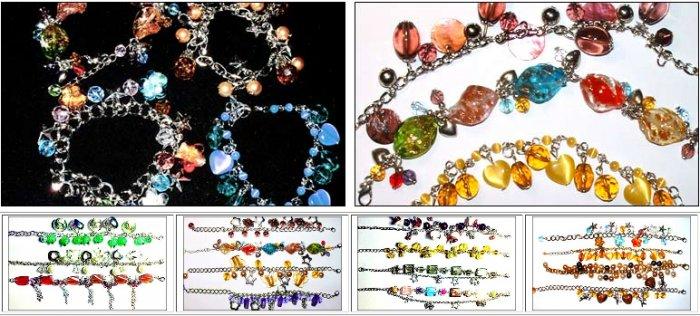 Wholesale Handmade Glass Beads Bracelet