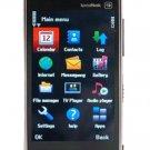 N9 Quad-band Touch Screen Dual Sim Standby Cell Phone Black (FPMH718B)