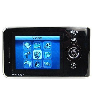 "Aigo MP-E235 40GB Pocket Multimedia Center w/3.5"" LCD - NEW"
