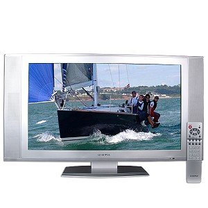 "32"" Audiovox FPE3205 Widescreen HDTV-Ready LCD TV (Silver) - NEW"