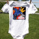 He's Mine! Super Hero Onesie size 3-6 months