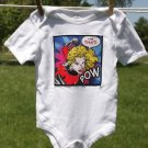 Take That! Super Hero Onesie size 3-6 months