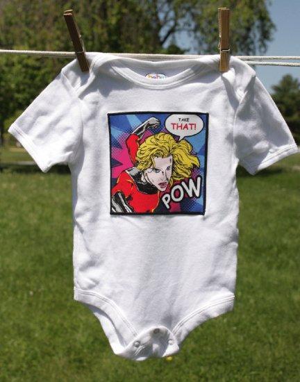Take That! Super Hero Onesie size 6-12 months