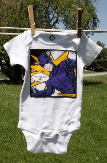 I'll Get You! Super Hero Onesie size 12-18 months