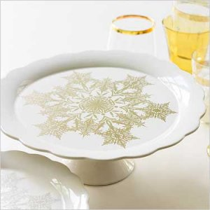 Gifts of the Season�Footed Platter